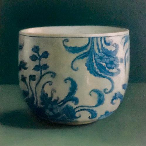 Blue & White Porcelain Cup