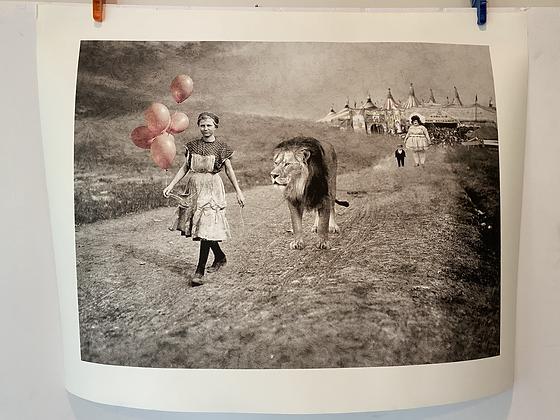 18x24 Lion Tamer