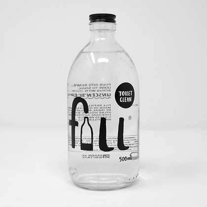 Toilet Clean Bottle - FILL Branded (500ml)