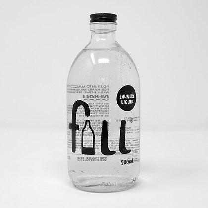 Laundry Liquid Bottle - FILL Branded (500ml)