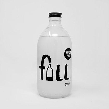 Dishwasher Rinse Aid Bottle - FILL Branded (500ml)