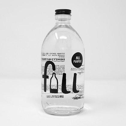 All Purpose Cleaner Bottle - FILL Branded (500ml)