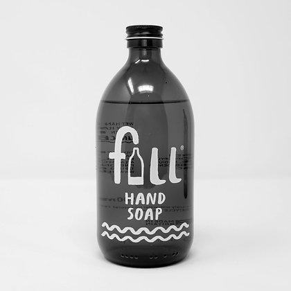 Amber Hand Soap Bottle - FILL Branded (500ml)