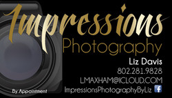 Impressions Photography Card