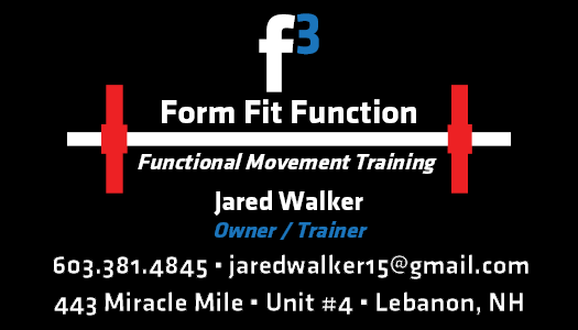 Form Fit Function Business Card