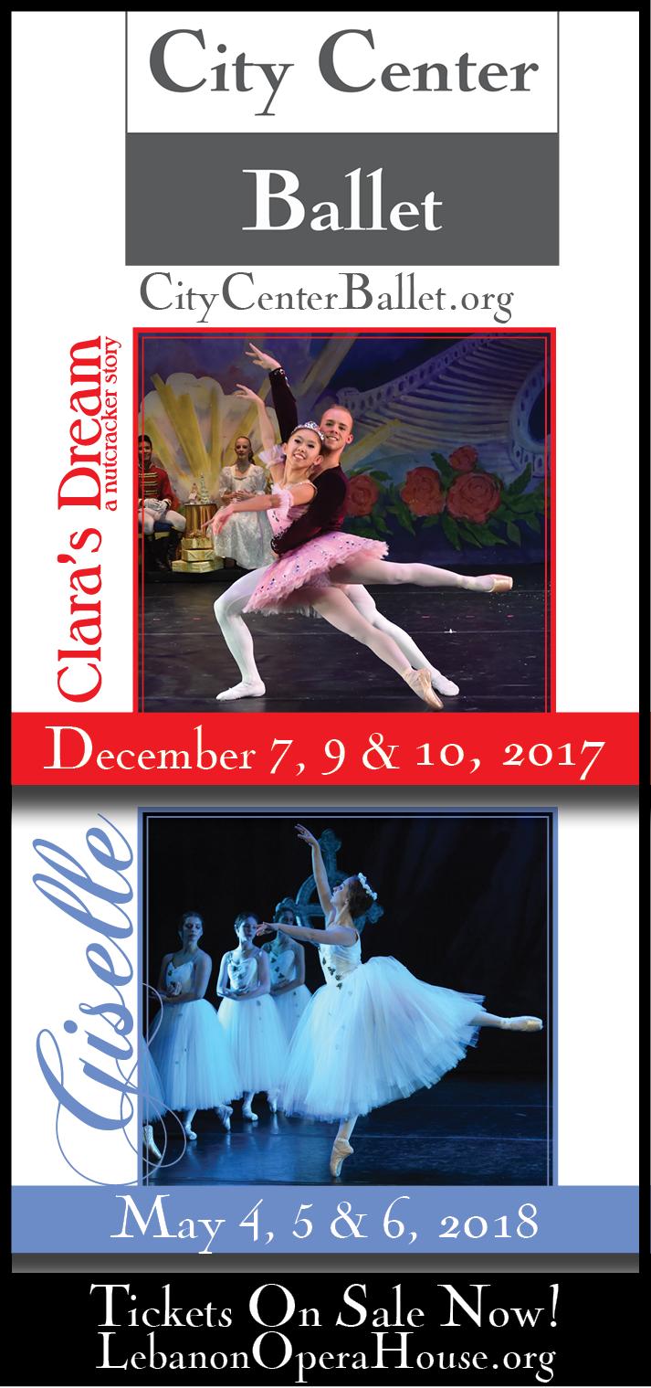 Playbill Ad for City Center Ballet