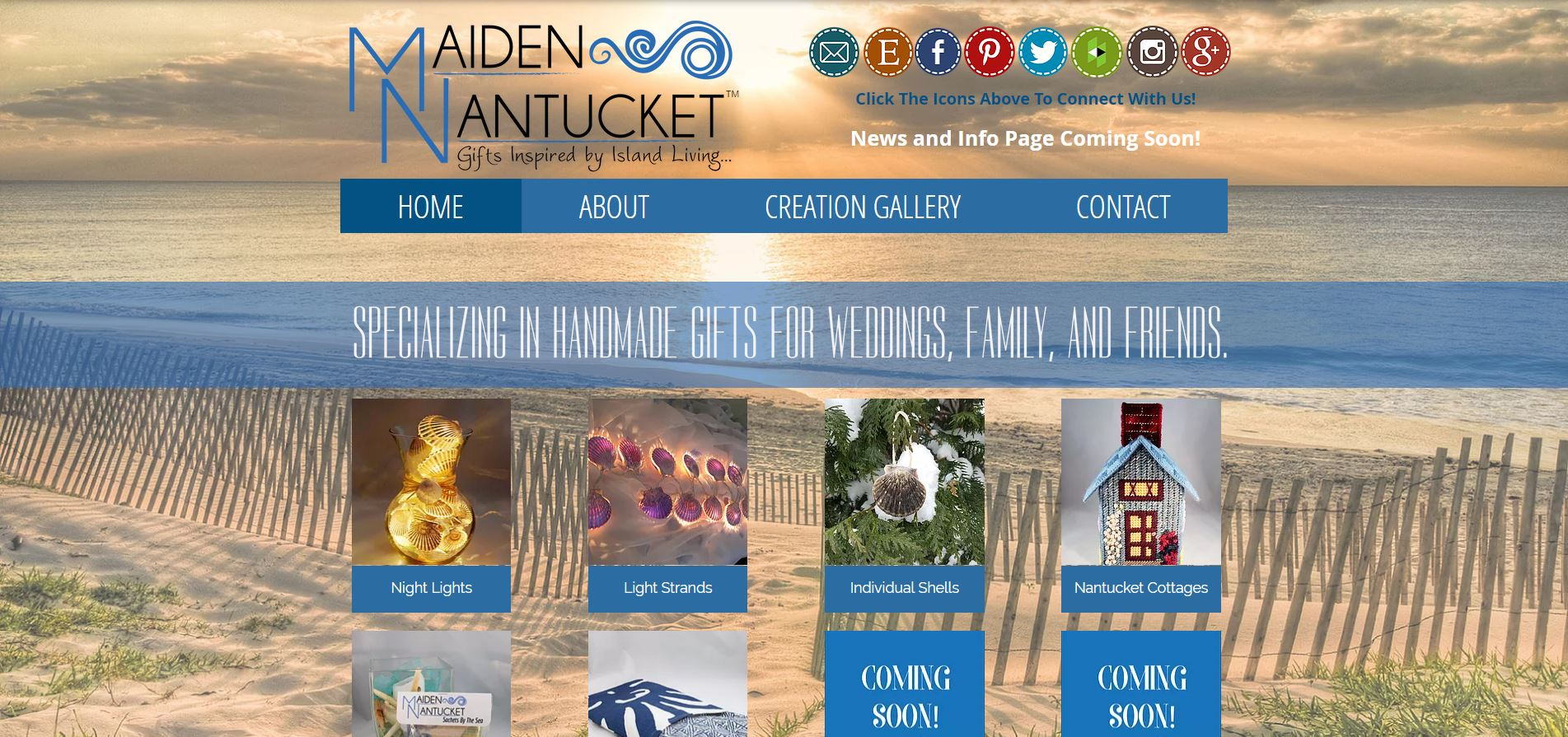 Maiden Nantucket Website