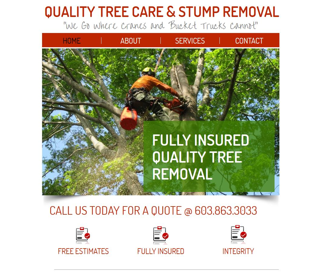 Quality Tree Website