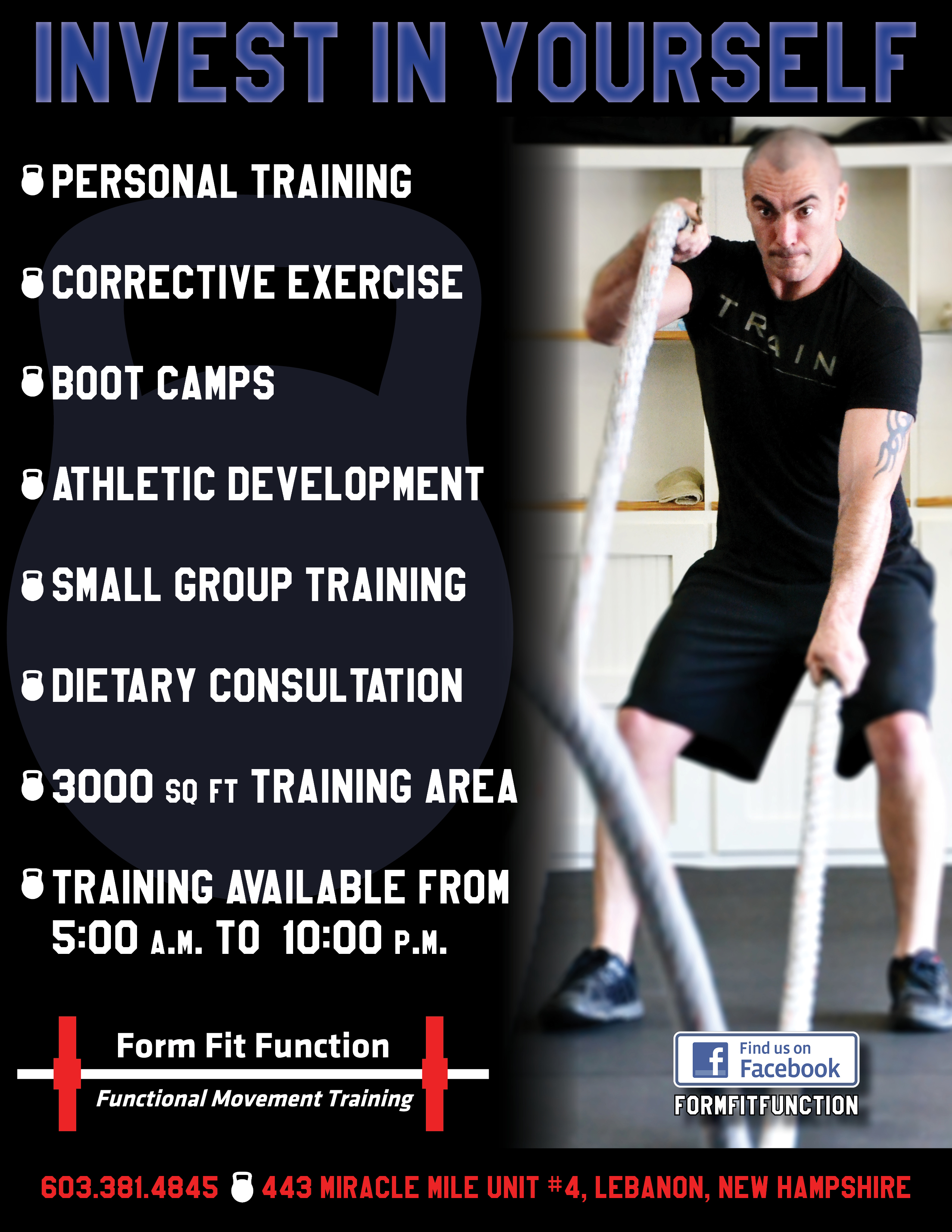 Form Fit Function Flyer