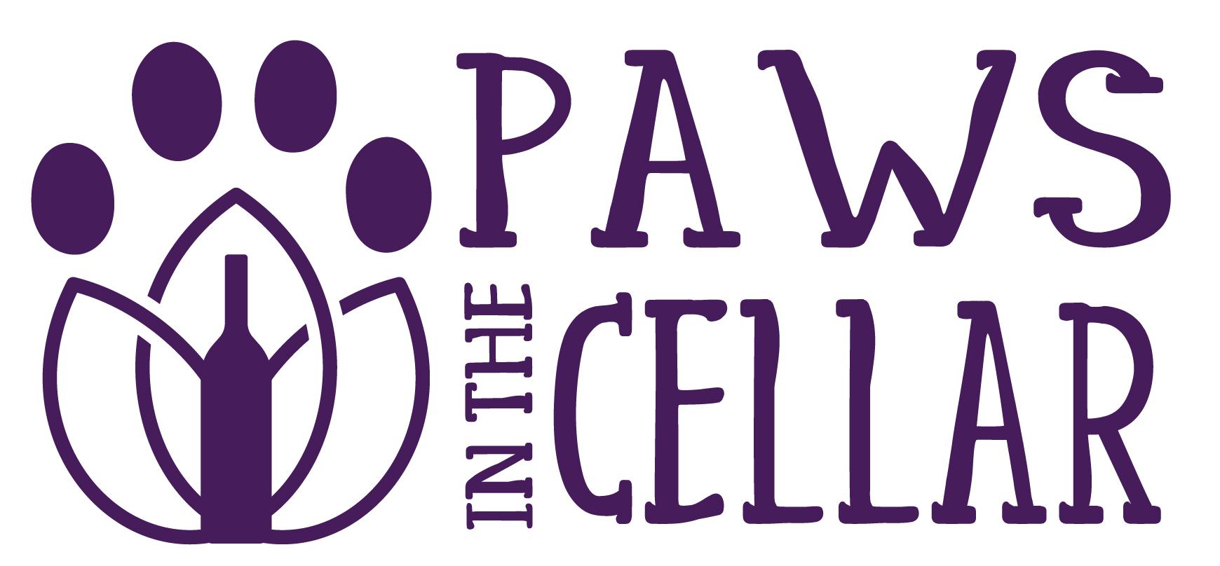 Paws In The Cellar Logo
