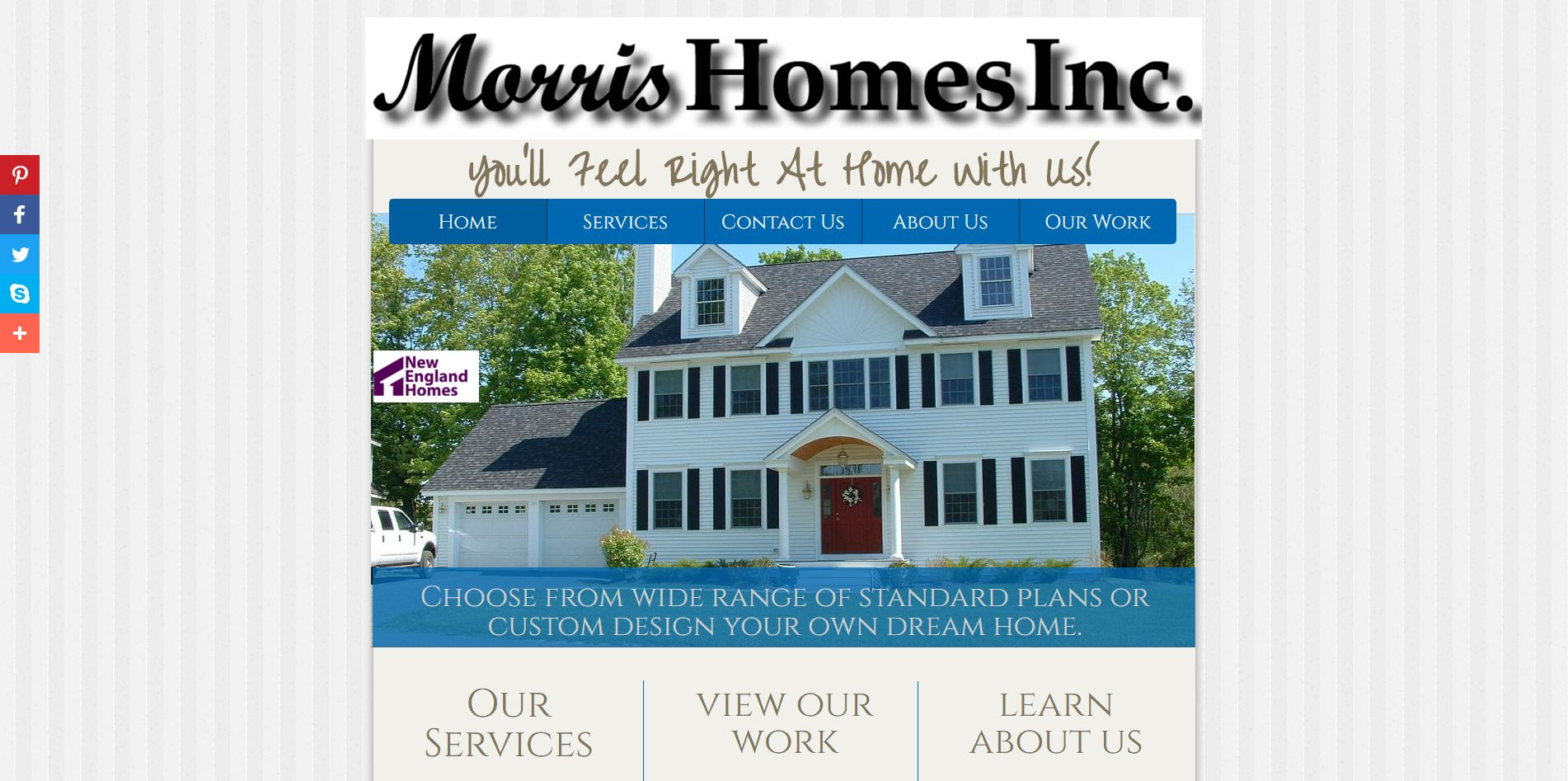 Morris Homes Website