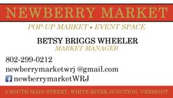 Newberry Market Business Card
