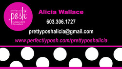 Perfectly Posh Business Card