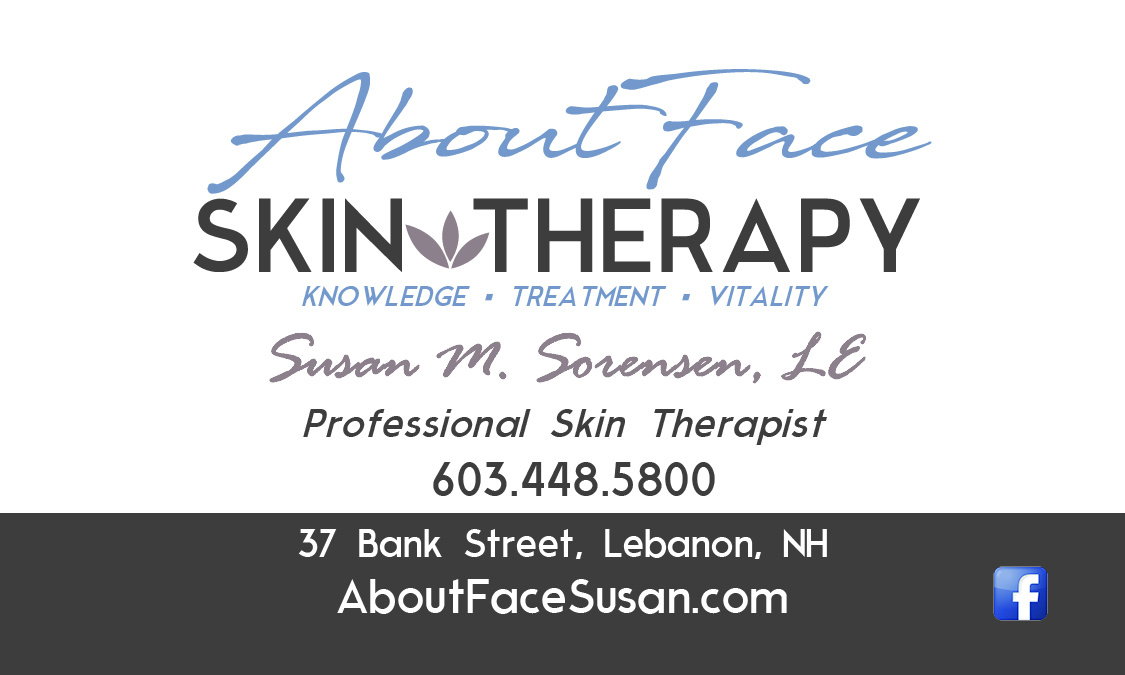 AboutFace Skin Therapy Card