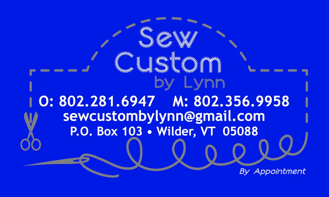 Sew Custom Business Card
