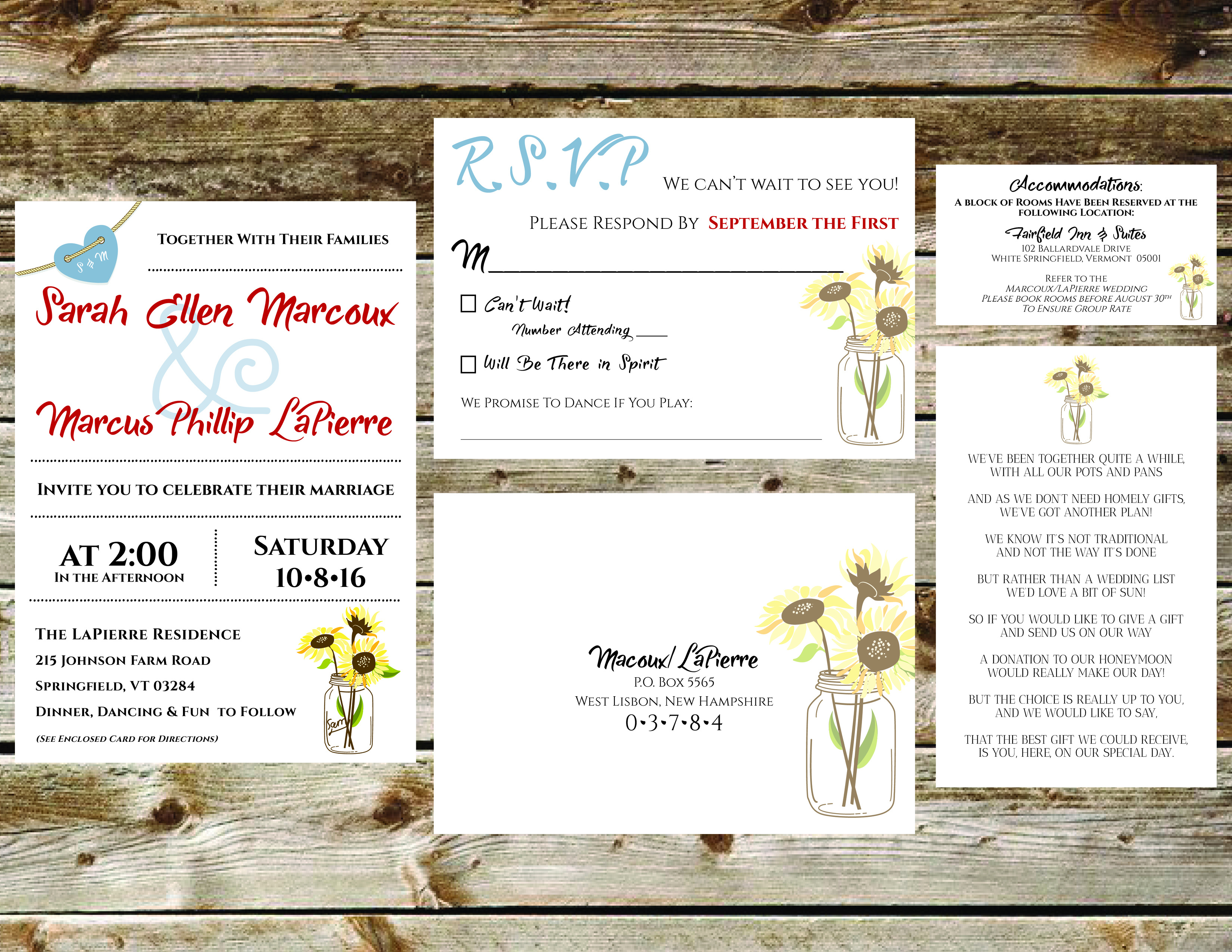 Rustic Sunflowers Collection