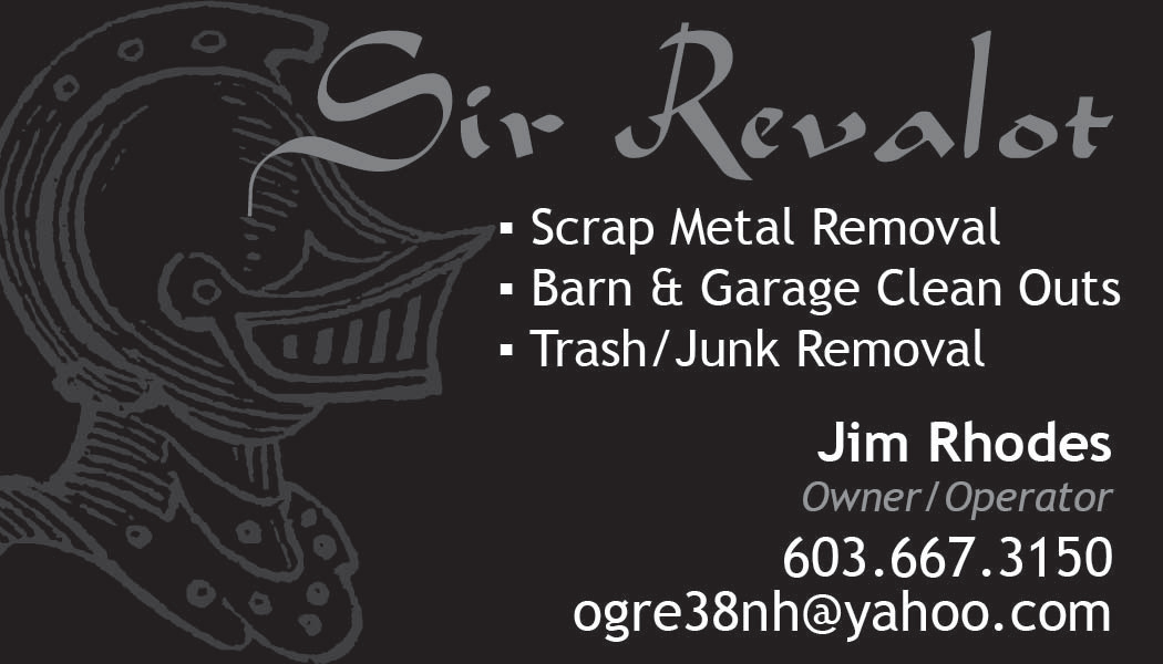 Sir Revalot Business Card