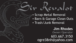 Sir Revalot Business Card