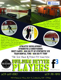 IceHaus & F3 Training Flyer