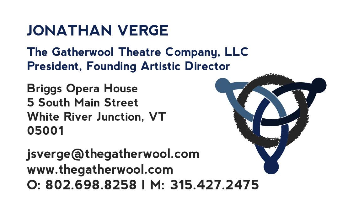 The Gatherwool Business Card