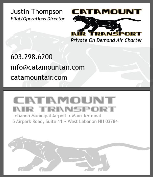 Catamount Air Business Card