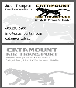Catamount Air Business Card