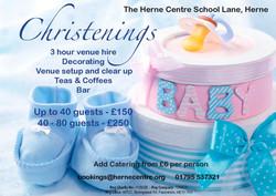 Herne christening