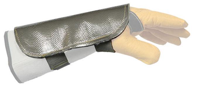 Protège-main aluminé