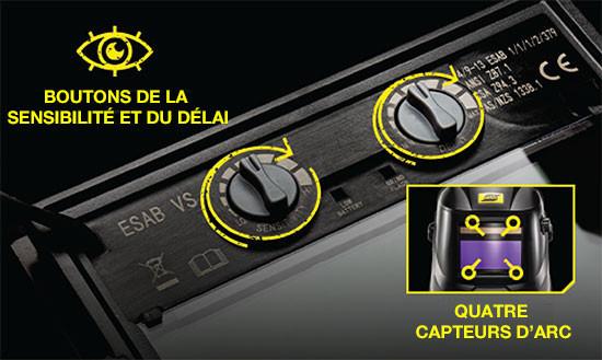 Savage A40 capteurs