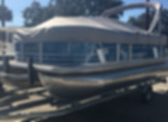 Sunchaser Pontoons Geneva 20 CRS boat for sale in Beaufort SC