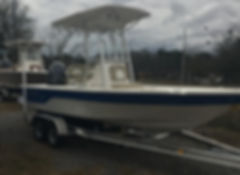 Sea Born FX 21 boat for sale in Beaufort SC