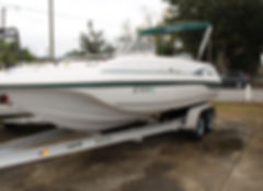 Hurricane FD 211 used boat for sale in Beaufort SC