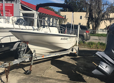 Boston Whaler 16 Dauntles used boat for sale in Beaufort SC