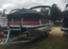 Sunchaser Pontoons Geneva 20 CNF boat for sale in Beaufort SC