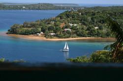 View from Mt Talau in Neiafu
