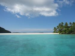 View of Nuku island