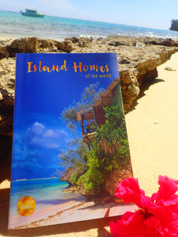 Front cover of the book Island Homes