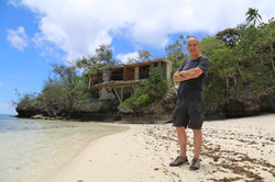 Kevin McCloud at the Beach House