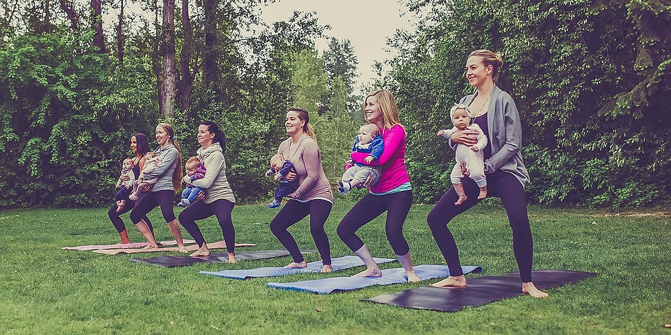 Mom and Baby Yoga in the Park (1)