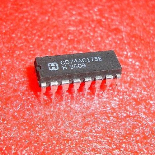 CD74AC175E CD74AC175EX 74AC175E (REPLACING FOR  74AC175P  74AC175PC )