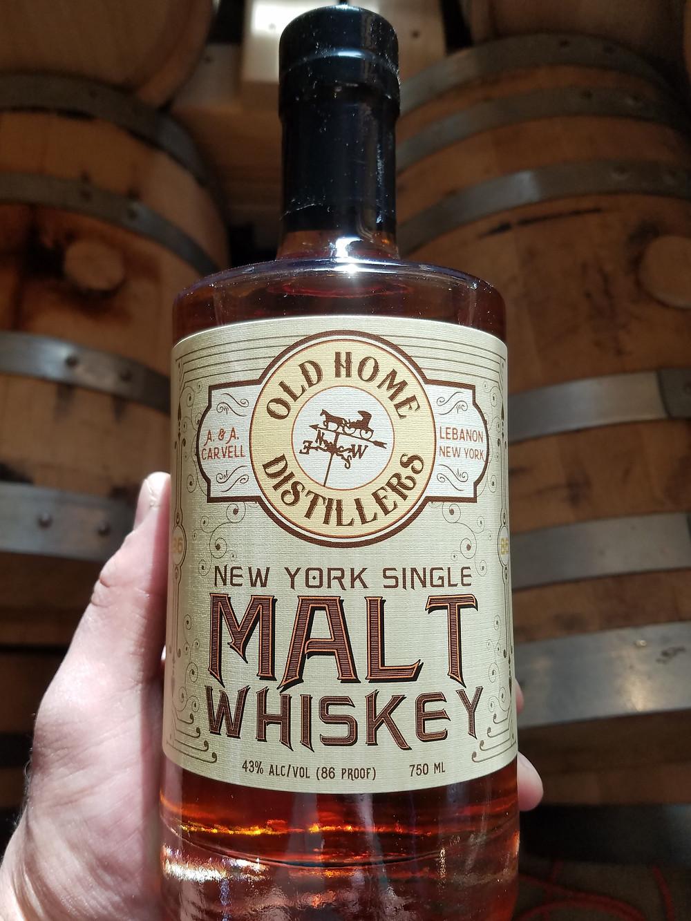 Old Home Distillers New York Single Malt