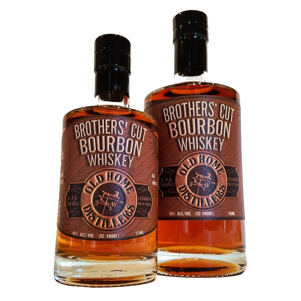 Brothers' Cut Bourbon Whiskey at the Old Home Tasting Room.