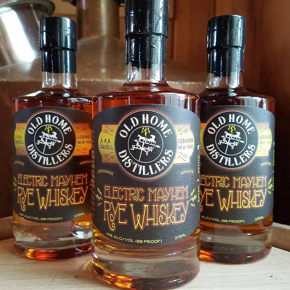 Electric Mayhem Rye Whiskey!