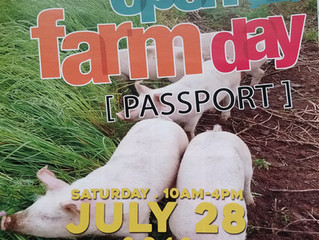 Open Farm Day Madison County is Saturday, July 28th!