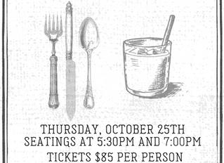Taste of Home is Thursday, October 25th!