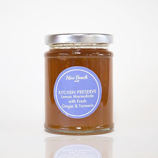 Hive Lemon Marmalade with Ginger & Turmeric