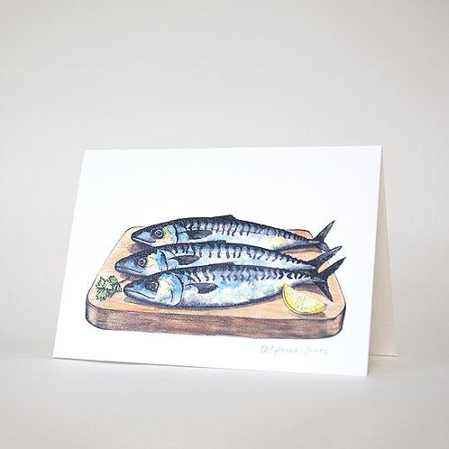 Hive Mackerel Card