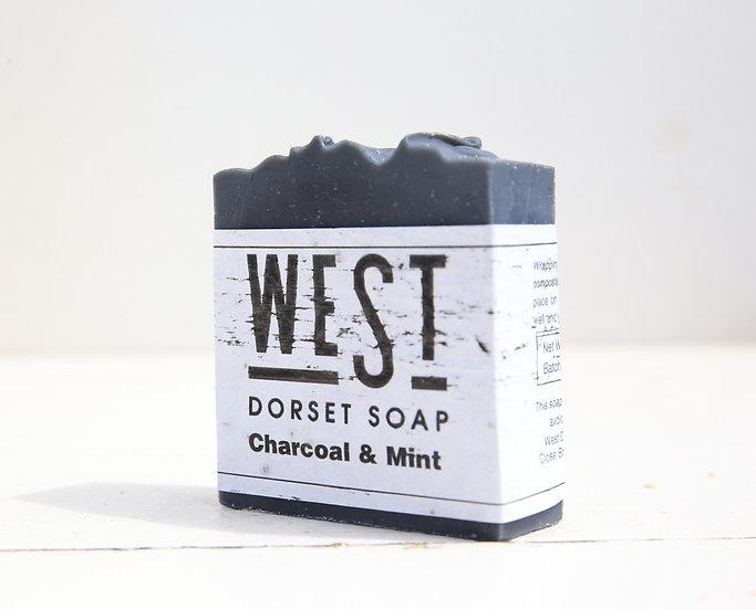 West Dorset Soap Charcoal & Mint