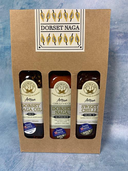 Dorset Naga Trio Pack