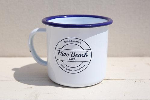 Hive Beach Café Tin Mug